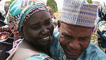 Gadis-gadis Chibok dipertemukan kembali dengan keluarga