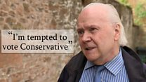 Lifelong Labour voter 'tempted to vote Tory'