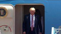 အမေရိကန် သမ္မတ ထရမ့် အစ္စရေးရောက်ရှိ