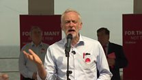 Corbyn blasts 'pretend u-turn'