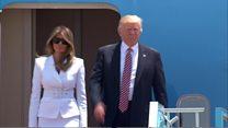 """En Israël, Trump évoque une """"rare opportunité"""" pour la paix"""