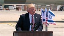 رئیس جمهوری آمریکا در اسرائیل؛ ترامپ بار دیگر تهران را حامی تروریسم خواند