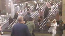 Manchester partlayışı: İnsanlar hadisə yerini tərk edir