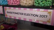 The sweet shop that predicts elections