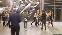 El momento de la explosión y el pánico tras el concierto de Ariana Grande en Manchester