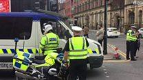 بي بي سي ترصد أخر التطورات في موقع انفجار مانشستر