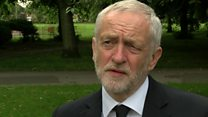 Corbyn: Terrible and traumatic time