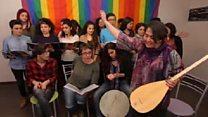 Türkiyənin ilk LGBTİ xorunun dözümlülük nəğmələri