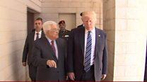 အစ္စရေးနဲ့ ပါလက်စတိုင်း ငြိမ်းချမ်းရေး ရဖို့ သမ္မတထရမ့် ကြိုးစားမယ်