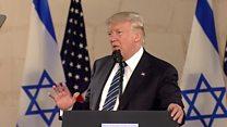 """Trump plaide pour un """"accord ultitme"""" de paix au Proche Orient"""
