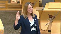 New Conservative MSP sworn in