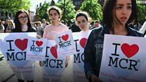 """هجوم مانشستر: """"الحب سينتصر على الكره"""""""