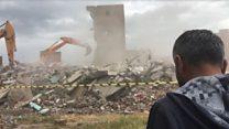 Sur'da yıkım başladı: 'Gitmeyeceğim'