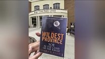 Overdue library book found 4,000 miles away