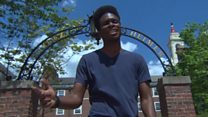 Harvard student raps his thesis - and graduates with honours