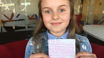 Ariana fan writes letter to singer