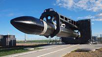 3D yazıcıyla üretilen roket uzay yolund