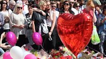 Silence held to remember Manchester victims