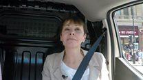 Van share: Green's Caroline Lucas says she 'cries easily'
