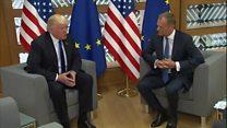 Визит Трампа в Европу: два Дональда не договорились