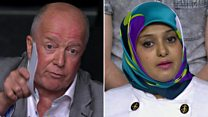 Question Time row over 'mosque' leaflet