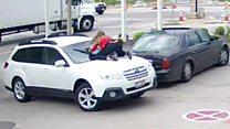 Крадій авто не очікував такої реакції водія