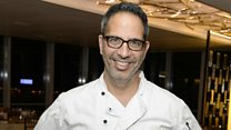 What does Ottolenghi give his kids for lunch?