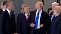 Трамп штовхнув прем'єра Чорногорії на зустрічі НАТО