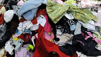 World's 'cast-off clothes' capital