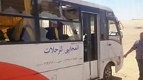 Egypt bus attack targets Christians