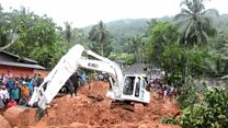 Rescuers dig for S Lanka mudslide victims