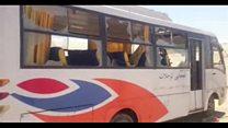 حمله مهاجمان به یک اتوبوس حامل مسیحیان قبطی در مصر