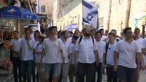 جشن اسرائیلیها برای 'الحاق اورشلیم' و نگرانی فلسطینیها