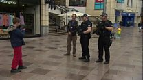 Wales armed police presence welcomed