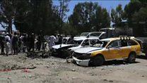 حمله انتحاری طالبان در اولین روز ماه رمضان
