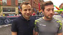 Marathon runners reunited in Manchester