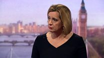 Amber Rudd on security after Manchester attack.