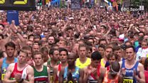 Manchester run starts with minute silence