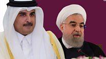 روحاني لأمير قطر: إيران مستعدة للتشاور مع دول الخليج