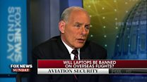 US security chief might extend laptop ban