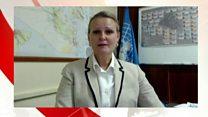 نگرانی سازمان ملل از وضعیت غیرنظامیان در موصل در مصاحبه با لیز گراندی