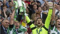 Celtic a' togail Cupa na h-Alba