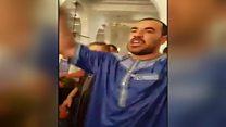 ناصر الزفزافي في قبضة الشرطة في المغرب