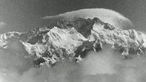Las espectaculares primeras imágenes del Everest desde el aire filmadas en 1933