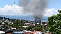 မာရာဝီမြို့ နေရာတချို့ ဖိလစ်ပိုင်အစိုးရတပ်တွေ ပြန်ရ