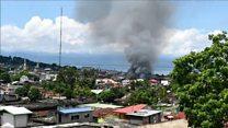 Aux Philippines, des raids aériens de l'armée contre des insurgés