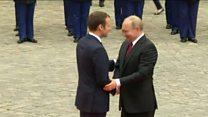 Lutter contre le terrorisme, priorité de l'axe franco-russe