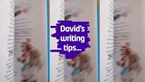 David Walliams' writing tips