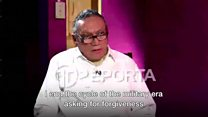 Noriega asks for forgiveness (2015 interview)
