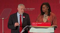 Corbyn apologises for childcare costs stumble